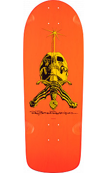 Powell Peralta Ray Rodriguez Skull and Sword OG Snub Skateboard Deck - 10 x 28.25