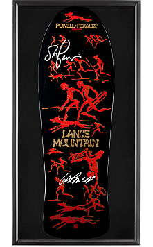 Bones Brigade® Shadowbox Lance Mountain BLEM Deck Signed By GAP/Stacy
