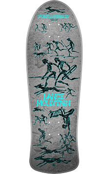Pre Order Bones Brigade® Lance Mountain 12th Series Reissue Skateboard Deck Silver - 10 x 30.75