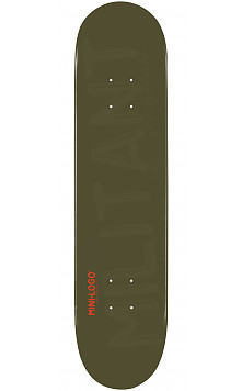 Mini Logo Militant Deck 112 Green - 7.75 x 31.75