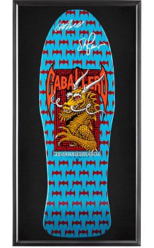 Bones Brigade® Shadowbox Cab BLEM Skateboard Deck Signed by GAP/Stacy