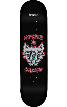 hoopla Pro Samarria Brevard Panther 2 Skateboard Deck 181