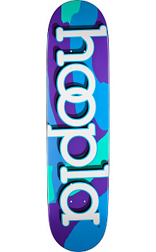 hoopla Camo purple Deck custom size