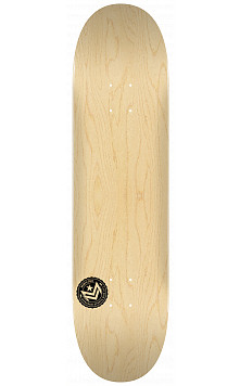 "MINI LOGO CHEVRON STAMP 2 ""13"" SKATEBOARD DECK 191 NATURAL - 7.5 X 28.65"
