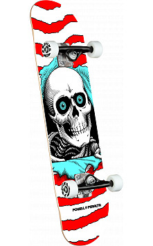 Powell Peralta Ripper One Off Red Birch Complete Skateboard - 8 x 31.45