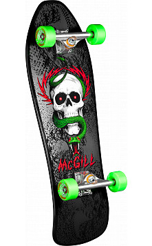 Bones Brigade® Mike McGill 5th Series Reissue Complete Skateboard Black - 9.75 x 30
