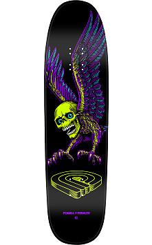 Powell Peralta Funshape Winged Skull 2 Skateboard Deck - 8.4 x 31.5