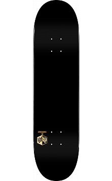 "MINI LOGO DETONATOR ""15"" SKATEBOARD DECK 244 K20 SOLID BLACK - 8.5 x 32.08"