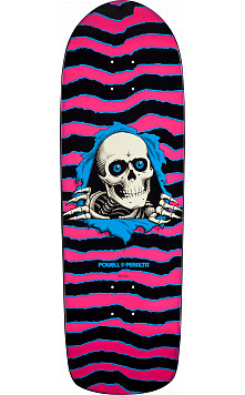 Powell Peralta Ripper Skateboard Deck Pink/Blue - 10 x 31.75