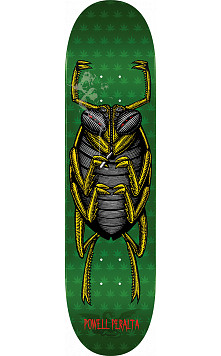 Powell Peralta Roach Skateboard Deck Green - 8 x 31.45