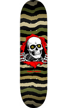 Powell Peralta Ripper Skateboard Deck Olive - Shape 242 - 8 x 31.45