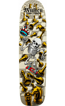 Bones Brigade® Rodney Mullen Chess Deck White - 7.4 x 27.625