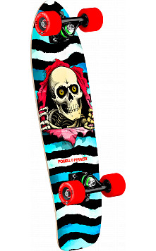 Powell Peralta Ripper WC Cruiser 274 Skateboard Assembly - 8.24 x 25.38