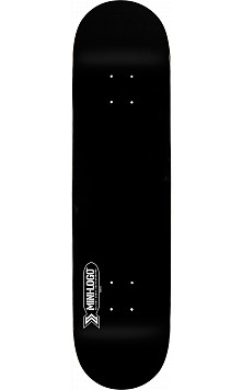 Mini Logo Small Bomb Deck 127 Black - 8 x 32.125