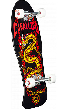 Bones Brigade Caballero Series 9 Skateboard Complete Black- 10 X 30