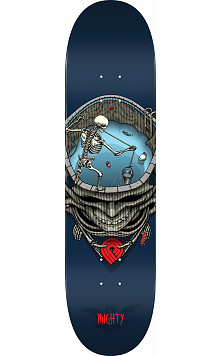 Powell Peralta Pro Mighty Pool Skateboard Deck Blue - Shape 242 - 8 x 31.45