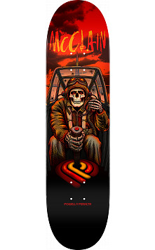 Powell Peralta Pro Brad McClain Pilot Skateboard Deck - Shape 244 - 8.5 x 32.08