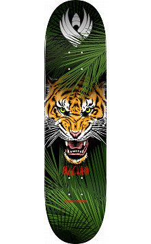 Powell Peralta Pro Brad McClain Tiger Flight® Skateboard Deck - Shape 243 - 8.25 x 31.95