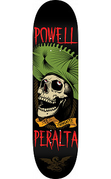 Powell Peralta Te Chingaste Skateboard Green - 8.25 x 31.95