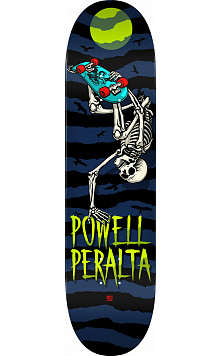 Powell Peralta Handplant Skelly Skateboard Deck Navy - 8.5 x 32.08