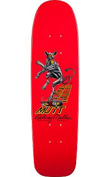 Bones Brigade® Rodney Mullen Mutt Reissue Deck Red - 7.13 x 26.13