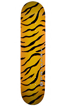 Primary Tiger Skin Skateboard Deck 124 K12