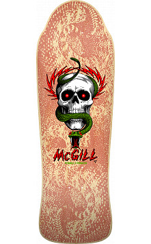 Bones Brigade® Mike McGill 11th Series Reissue Skateboard Deck Natural - 9.94 x 30.43