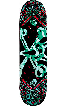 Powell Peralta Vato Rat Band Turquoise Deck - 8.375 x 31.7