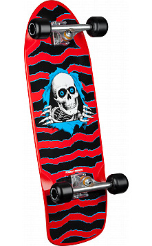 Ripper OG Custom Complete Skateboard Red - 10 x 31