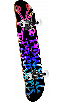 Powell Peralta Vato Rat Paint '15' Complete Skateboard Pink/Blue - 8 x 32.125