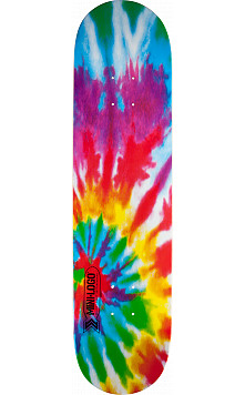 Mini Logo Small Bomb Skateboard Deck 126 Tie Dye - 7.625 x 31.625