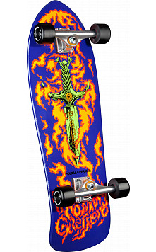 Bones Brigade® Tommy Guerrero 5th Series Reissue Complete Skateboard Purple - 9.75 x 30.4