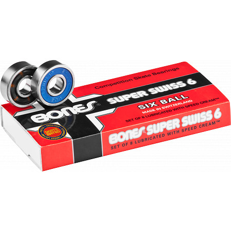 Bones® Super Swiss 6 Bearings (8 pack)