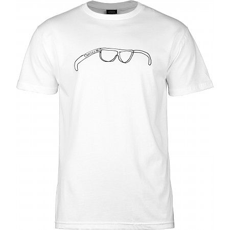 BONES WHEELS T-shirt Shades White