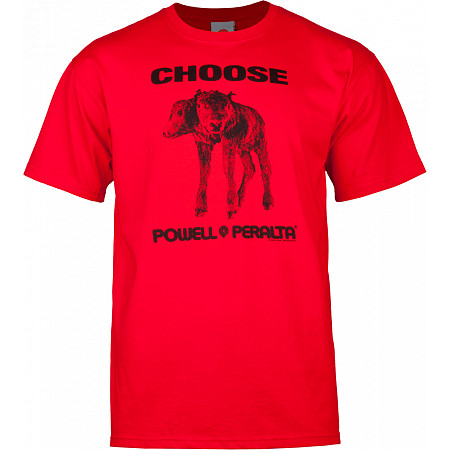 "Powell-Peralta ""Choose"" T-shirt - Red"