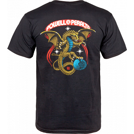 Powell-Peralta Galactic Dragon T-shirt - Black
