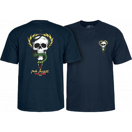 Powell-Peralta Mike McGill Skull & Snake  T-shirt - Navy