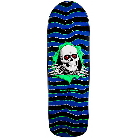 Powell-Peralta Old School Ripper Deck - Blue/Green