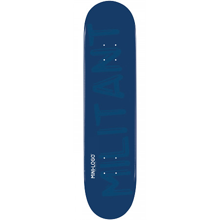 "Mini Logo Deck 112 7.75"" Navy"