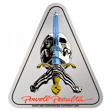 Powell-Peralta Skull & Sword Sticker (Single)