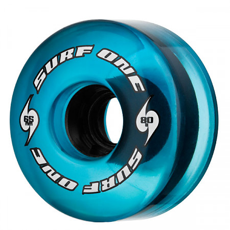 Surf One Blue Tide 65mm 80a Core (Single)
