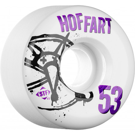 BONES WHEELS STF Pro Hoffart Numbers 53mm 4pk
