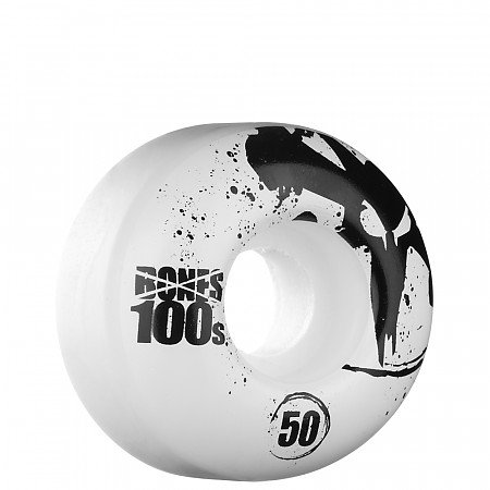 BONES WHEELS OG 100s 50mm - White (4 pack)