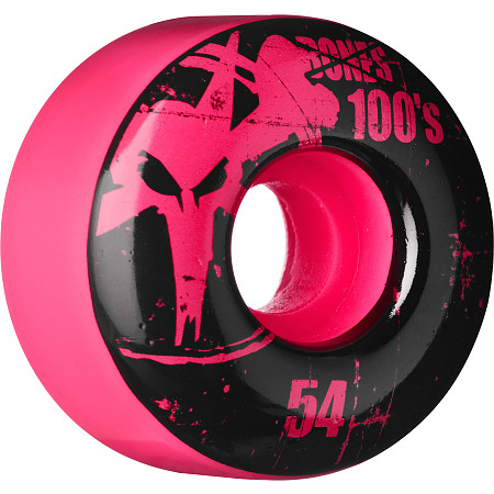 BONES WHEELS 100 Slims 54mm - Pink (4 pack)