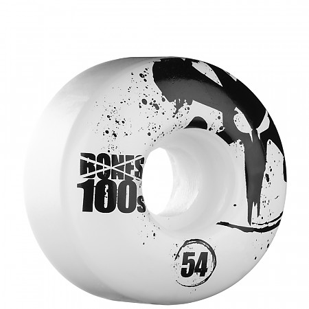 BONES WHEELS OG 100s 54mm - White (4 pack)