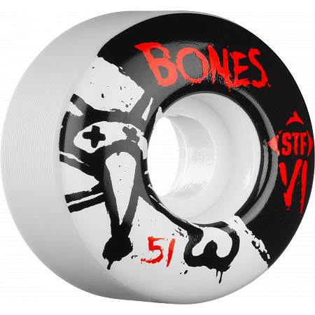 BONES WHEELS STF Skinny BONES 51mm (4 pack)