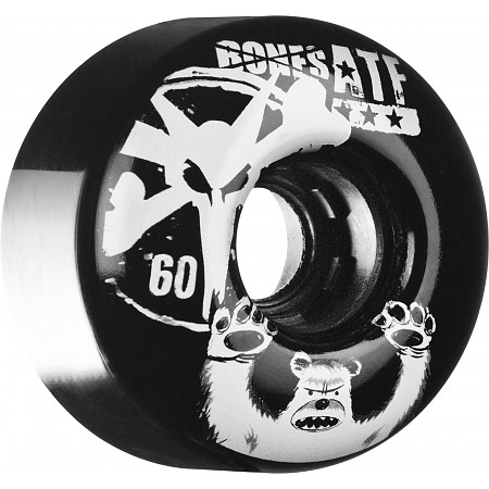 BONES WHEELS ATF Po Bear 60mm Black 4pk