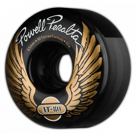 Powell-Peralta AT-80 65mm 80a - Black (4 pack)