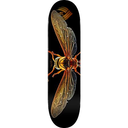 "Powell Peralta Flight Deck Shape 247 Skateboard Deck Black Stain 8/"""