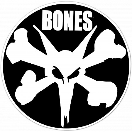 Bones Wheels 12 Quot Ramp Circle Sticker Single Skate One